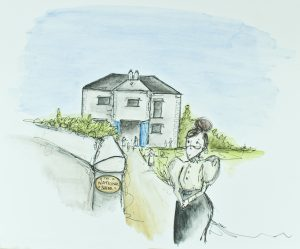 Illustration 'The Old National School' by Gráinne Knox at Inspired by Astrid