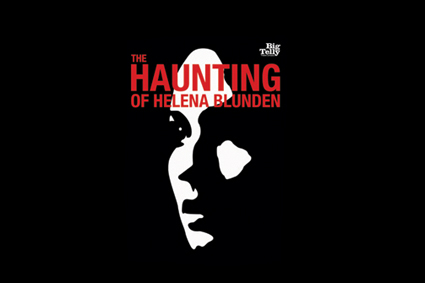 Ad for 'The Haunting of Helena Blunden'